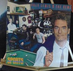 Huey Lewis And The News Lp Sports Near Mint #1980s
