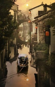 Suzhou, China best for day trip if you want to escape Shanghais City. Other beautiful place is Hangzhou.