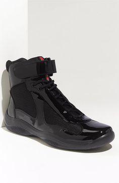 53c4f3506d1 Prada  America s Cup  High Top Sneaker (Men) available at  Nordstrom Prada
