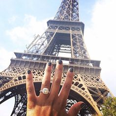 Paris engagement! Congratulations to our beautiful bride to be | tag your love