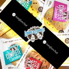 enter to win with this link. #lennyandlarrys #teamLL   We know summer is right around the corner and what better way to celebrate than with a new pair of sunnies? Oh and don't forget the best part; you would also be kicking off summer with a box of Lenny & Larry's Complete Cookies. We couldn't think of a better way to start the summer off either thats why we are giving you the chance to win a $100 gift card to Sunglass Hut and a box of complete cookies!   2 Lucky Winners will receive:   1…