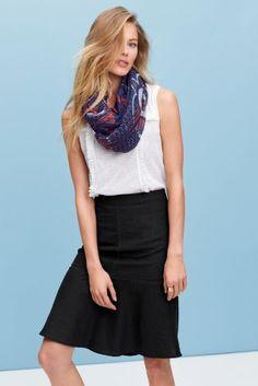 Майка с шарфом - Покупайте прямо сейчас на сайте Next: Россия