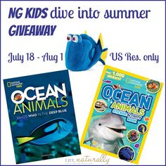 Life, Naturally: NG Kids Dive into Summer GIVEAWAY #sorteo #findingdory