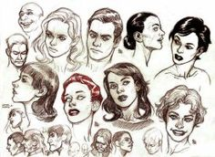 heads studies by bordon