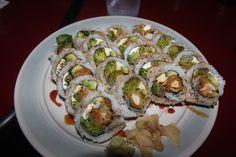chicken tempura sushi!