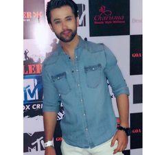 Sumit Bhardwaj, Denim Button Up, Button Up Shirts, Desi, Men Casual, Mens Tops, Fashion, Moda, Fashion Styles