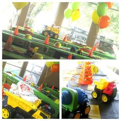 Real Parties: Can You Dig It? Construction Birthday Party | Baby Lifestyles