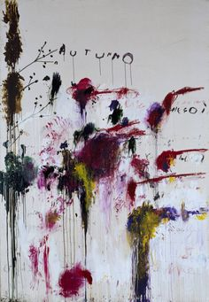 Cy Twombly  |  Quattro Stagioni Collection, Primavera, Estate, Autumno, Inverno