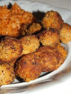 Falafel, Quick Meals, Tandoori Chicken, Food And Drink, Breakfast, Ethnic Recipes, Meal, Turmeric, Fast Meals