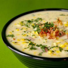 Corn Chowder recipe.  @Anna Martin