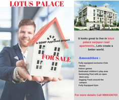 Lotus Palace has been styled and designed on the lines of the Buckingham Palace for you to experience and live the Aristocratic life style. Jogging Track, Let's Create, Pool Decks, Flats For Sale, Apartments For Sale, Buckingham Palace, Worlds Of Fun, Lotus, Swimming