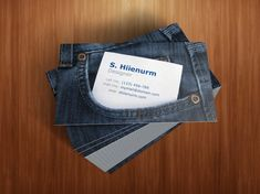 """This """"pocket friendly"""" business card is very personable and creative."""