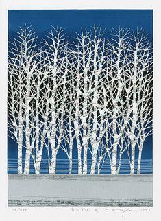 Fumio Fujita Woodblock Prints