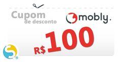 Use este código de cupom para economizar R$ 100 em qualquer compra igual ou superior a R$ 890,00 no carrinho da loja virtual Mobly.