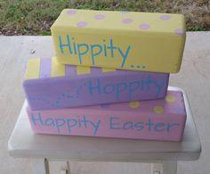 This project just makes me happy.  Feel free to share.  #chalkylady #easter