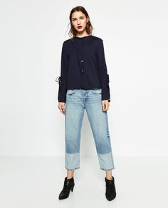 Image 1 of BOYFIT JEANS from Zara