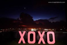 """Make sure your decor reflects your theme. For this Gossip Girl-themed debut, """"XOXO"""" could definitely not be missed! Gossip Girl Party, Debut Ideas, Party Themes, Ph, Reflection, Neon Signs, Blog, How To Make, Decor"""
