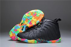 "6d61c697e702b Buy 2019 Copuon Kids Nike Air Foamposite One ""Fruity Pebbles"" Black  Multi-Colored from Reliable 2019 Copuon Kids Nike Air Foamposite One ""Fruity  Pebbles"" ..."