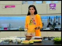Special Chaat Masala, Dahi Bara Chaat Masala, Curry Powder And Zafrani Garam Masala - Chef Tahira Mateen in Kam Kharch Bala Nasheen on Ary Zauq