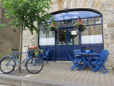 Gourmet Greenway member - The Blue Bicycle tearooms, Newport, Co Mayo Off Road Cycling, Great Western, Republic Of Ireland, Newport, Bicycle, Blue Things, Activities, Tea, Outdoor Decor