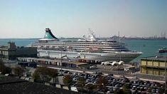 Venice Cruise Ship terminal (Video 1) by jonfromqueens