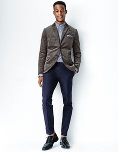 Selvedge chinos?! Come on, guys, you're gonna empty my wallet here! From the Gap x GQ Brooklyn Tailors collection.