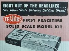 Testors Airplane Model Model Airplanes, Model Kits, Scale Models, Personalized Items