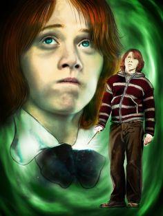 Ronald Weasley by Eruadan.deviantart.com on @deviantART