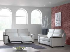 CAVIAR - Ce salon est le symbole du style et du confort, avec ses accents bicolores dans les accoudoirs, très subtils et distingués   Meubles Toff