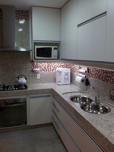 Era uma vez uma cliente que precisava ter uma cozinha prática, organizada e linda para passar horas agradáveis preparando gostosuras ao lad...