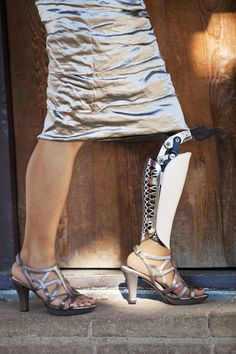 Beautiful prosthetic legs that are made to be seen