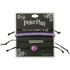 Disney Peter Pan Bracelet 4 Pack Hot Topic ($7.87) ❤ liked on Polyvore featuring jewelry, bracelets, bracelet bangle, disney, disney jewelry, disney bracelet and peter pan jewelry