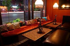 I love the relaxed atmosphere of a hookah bar. I want to mirror that atmosphere in my home.