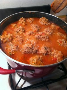 Made from Home Daily: Albondigas...Mexican Meatball Soup