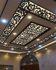 3 Noble Tips AND Tricks: False Ceiling Bedroom Lamps false ceiling design latest.False Ceiling Home Bedrooms. House Ceiling Design, Ceiling Design Living Room, Bedroom False Ceiling Design, False Ceiling Living Room, False Ceiling Ideas, Wooden Ceiling Design, Bedroom Ceiling, Gypsum Ceiling, Roof Ceiling