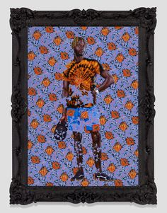 Looking at Kehinde Wiley and Thomas Gainsborough Side by Side Kehinde Wiley, Thomas Gainsborough, Psychedelic Effects, Indigenous Peoples Day, Huntington Library, Joan Mitchell, African American History, Quilts, Sustainable Design
