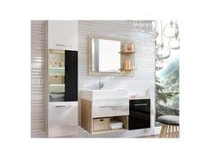 Fascinujúca kúpelňova zostava ARUBA s moderným farebným prevedením.