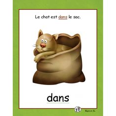 Repérage spatial (affiches) French Teaching Resources, Teaching French, French Prepositions, Splat Le Chat, French Classroom, French Language Learning, Learning Environments, Positivity, Concept