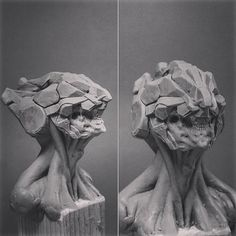 #mechanic #robotic #robot #cyberpunk #cyborg #scifi #fantasyart #fantasy #monster #knight #concept #figure #characterdesign #character #concept #sculpture #clay #plasticine #chavant #monsterclay #monster #creaturedesign #fantasyart #art #traditionalart #sketch #скульптура