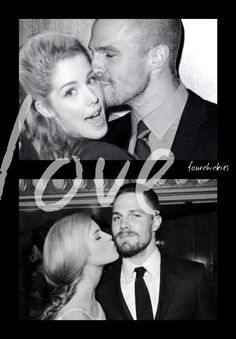 #Arrow #Olicity Oliver Queen and Felicity Smoak