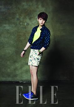 BEAST - Elle Magazine May Issue 13 - Yoseob