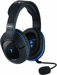 Turtle Beach - Stealth 520 Premium Fully Wireless Gaming Headset Pro & (Discontinued by Manufacturer): Video Games Ps3, Best Wireless Earphones, Ps4 Gaming Headset, Turtle Beach, Gaming Accessories, Video Games, Tech, Shopping, Tecnologia