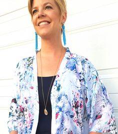 Quick & Easy DIY Kimono | Paper Rose