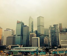 Hong Kong San Francisco Skyline, Hong Kong, New York Skyline, Landscapes, Travel, Paisajes, Scenery, Viajes, Destinations