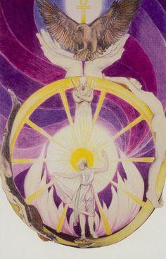 X. The Wheel of Fortune - Via Tarot by Susan Jameson, John Bonner