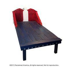 Handmade Heritage Kid's Bed  Reclaimed Wood  by ReclaimedAmerica, $1700.00