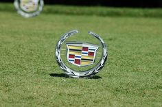 The #Cadillac Tee Marker #golf #CadillacChamp