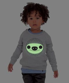 Kids Sweatshirt GLOWING SLOTH Lemur, Sloth, Sweatshirts, Kids, T Shirt, Collection, Women, Fashion, Young Children