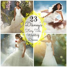 Looking for a wedding dress that will make you feel like a Disney Princess? Look no further!