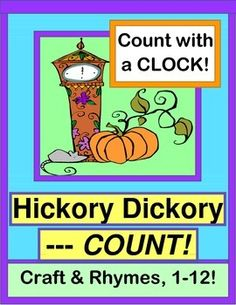 IDENTIFY CLOCK NUMBERS and SEQUENCE NUMBERS 1-12.  Make a MOUSE CRAFT, and do some funny NUMBER RHYMES!  Mouse Craft Templates and 12 Clock Number Cards are included--just add a CLOCK for Multi-Sensory Math!  (12 pages)  From Joyful Noises Express TpT!  $